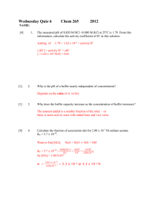 Wednesday Quiz 6 answers Chem 265 2012