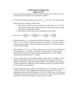 EE466 Optical Engineering Homework #5