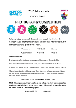 MSG Photography Competition 2015