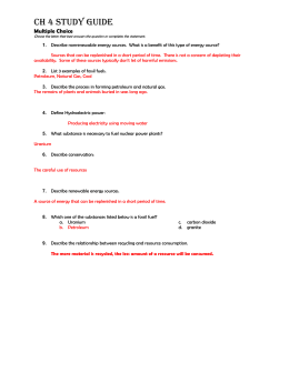 Ch 4 Study Guide2 Answers