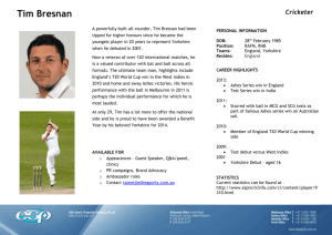 BRESNAN Tim - Elite Sports Properties