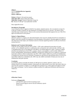 sample letter of appeal genentech transplant access services