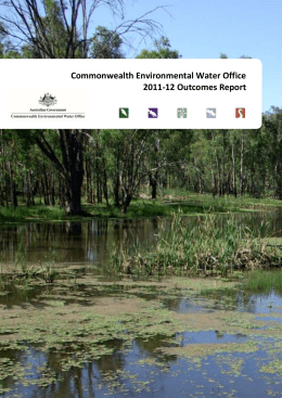 Commonwealth Environmental Water Office 2011