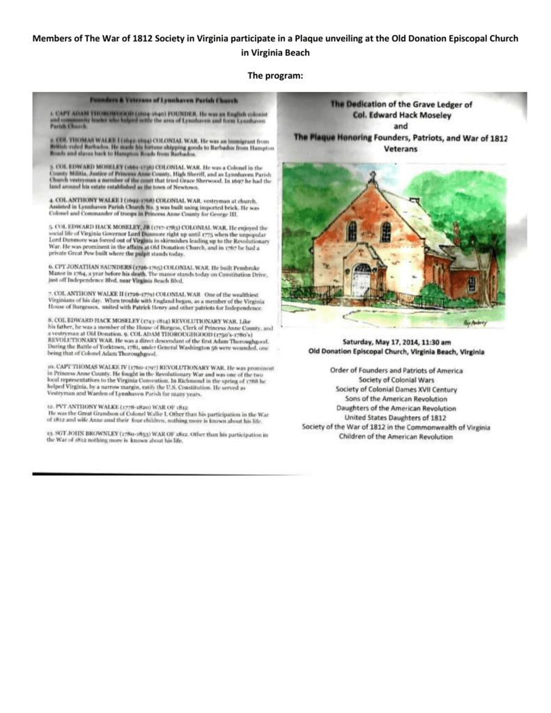 Old Donation Episcopal Church in Virginia Beach Ceremony