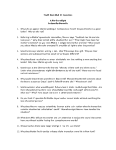 Youth Book Club Kit Questions A Northern Light By Jennifer