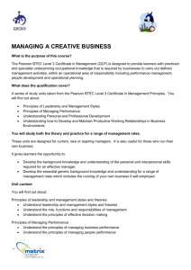 managing a creative business