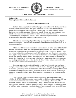 Read the Attorney General`s Statement HERE.