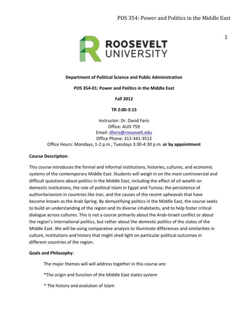 Roosevelt University Email >> Syllabus Roosevelt University Blogs