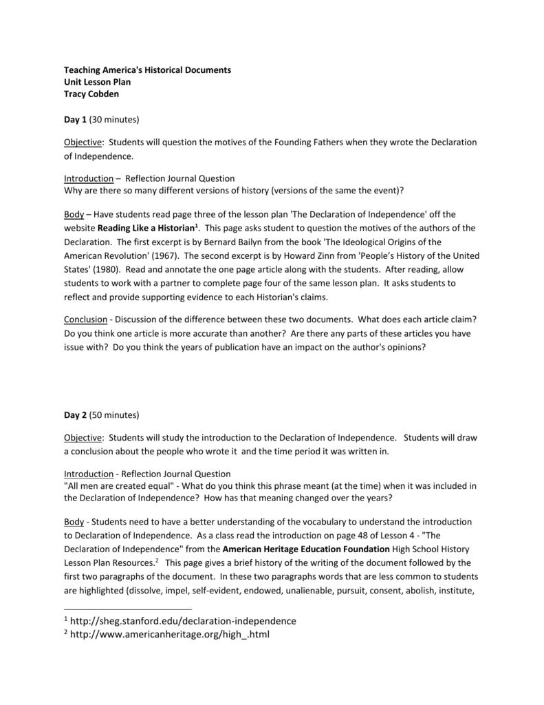 worksheet Declaration Of Independence Grievances Worksheet unit lesson plan americanhistoryk