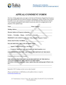 Appeal/Comment Form