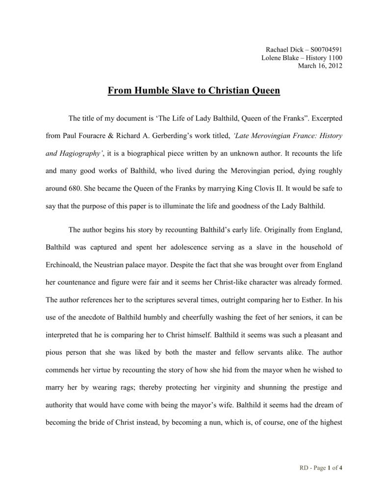 biographical interpretation essay