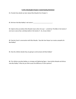 Chapters 5-8 Guided Reading Handout