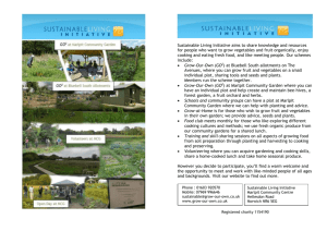 Leaflet 2-column docx - Sustainable Living Initiative