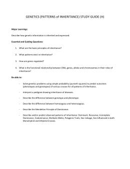 unit concept map rh studylib net complex patterns of inheritance study guide answers complex patterns of inheritance study guide answers