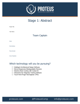 Abstract Template (MS Word)