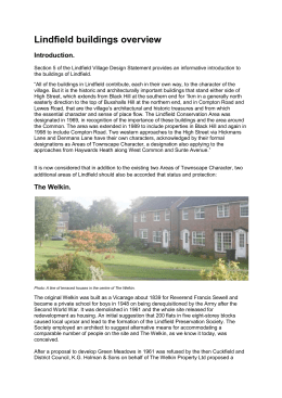 The Wilderness. - Lindfield Parish Council