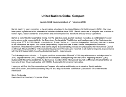 UNGC Principle: - United Nations Global Compact