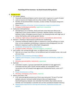 Psychology IB Test Summary—by Daniel Smarda 2014 graduate