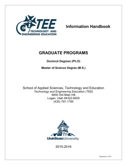 Graduate Programs - School of Applied Sciences, Technology and