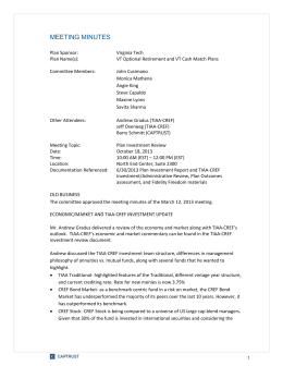 CAPTRUST Meeting Minutes Template_Q4 2012