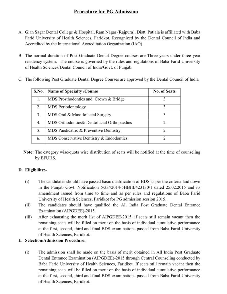 bfuhs thesis list