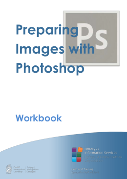 Preparing Images with Photoshop - Cardiff Metropolitan University