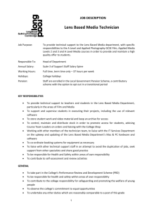 Full Job Description - Long Road Sixth Form College
