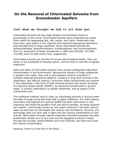 Newsletter Chlorinated Solvents Contamination Final