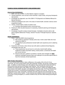 clinical social worker-entry level/intern (42s1)