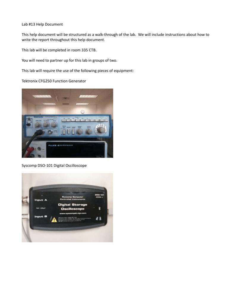 Lab 13 Help Circuitlab Phase Shift Delay