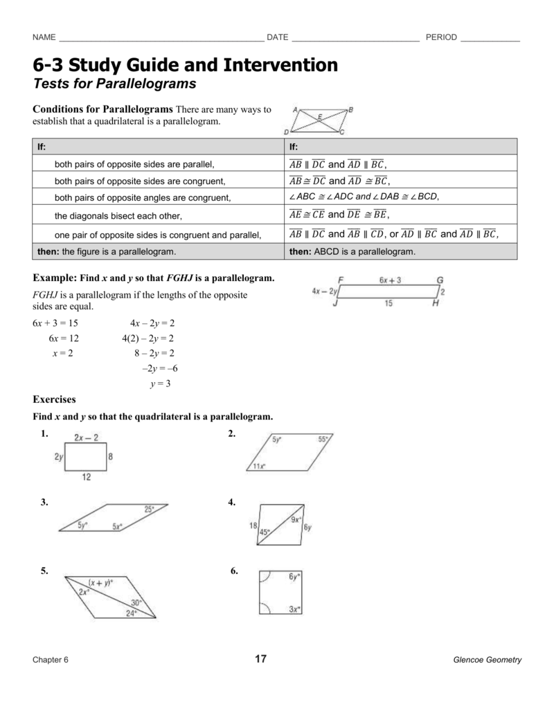 Study guide & intervention alg22 | function (mathematics.