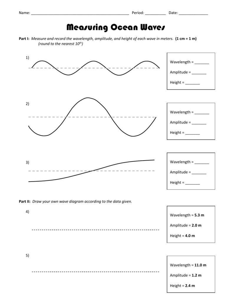 worksheet Diagram Of A Wave Worksheet 006946688 2 7657db40252dbc4686c19aada02a8231 png