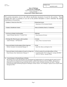 CS-214 Position Description Form