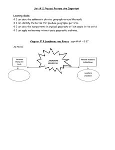 Gr. 7 - Geography - Chapter 4 - Note and Expectation