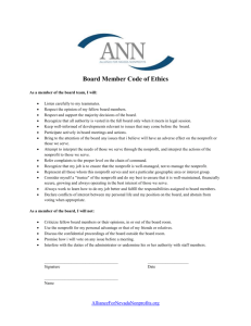 ANN Board Member Code of Ethics