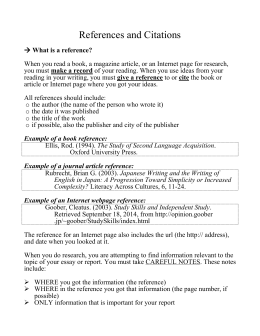 Simplified gcu referencecitation guide waseda references ccuart Image collections