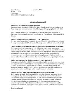 Biodiversity, Adaptation & Classification - Study.com
