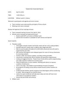 word document - Sacramento City Unified School District