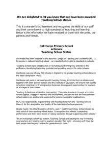 Teaching Schools local press release template