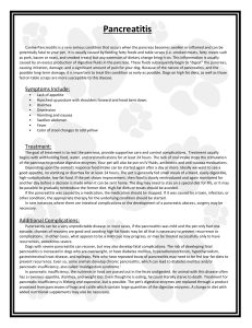nursing diagnosis/objectives/interventions