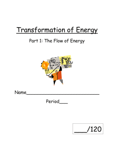 Transformation of Energy - Brandywine School District