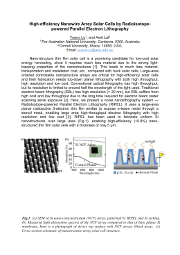 High-efficiency Nanowire Array Solar Cells by Radioisotope