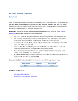 Having a Healthy Pregnancy - Interior Health Authority