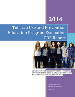TUPE Report - Oakland Unified School District