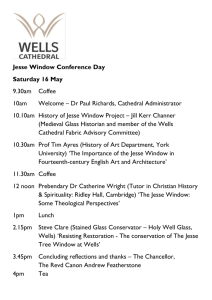 Jesse Window Conference Day Saturday 16 May