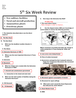 Name: Date: Period: 5th Six Week Review 1. The industries