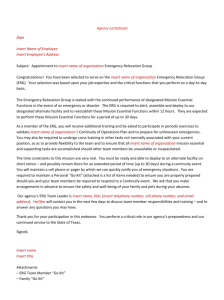 Link to: ERG Notification Letter template