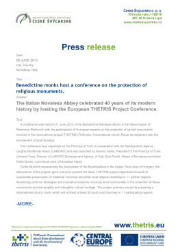 Thetris Conference_ press release1_FINAL3
