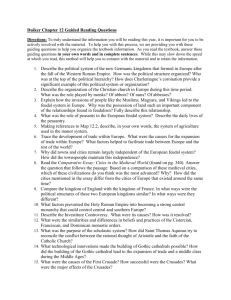 Duiker Chapter 12 Guided Reading Questions Directions: To truly