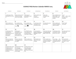 2012 One-Month Basic Calendar (any year)